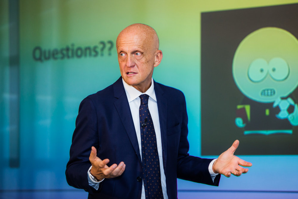 Football referee Pierluigi Collina