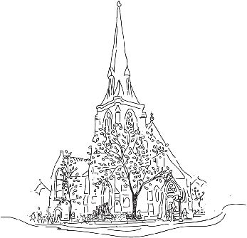 St. Andrew's Church Ottawa illustration
