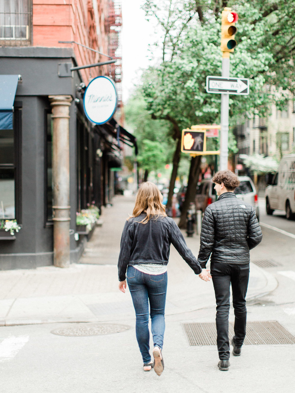 East Village Engagement Photographs