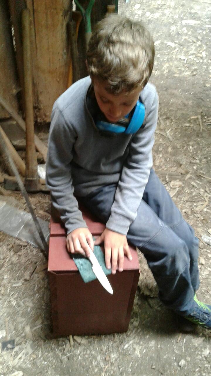 Final sanding and polishing