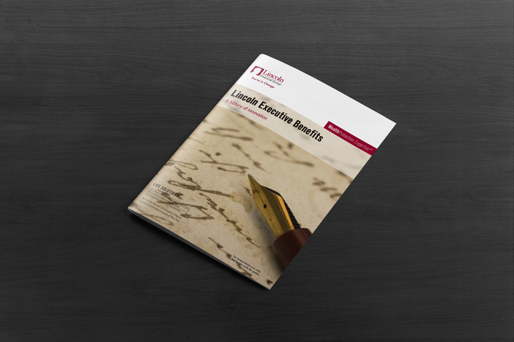 Executive Benefits Timeline brochure