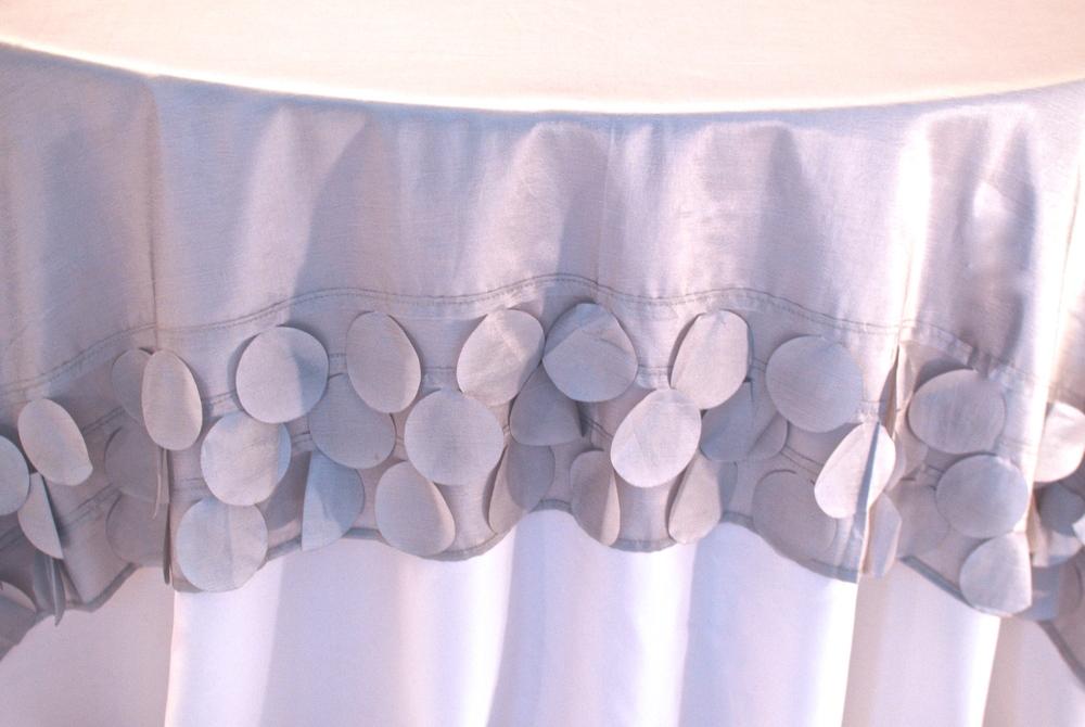 Circle Design Topper - Silver