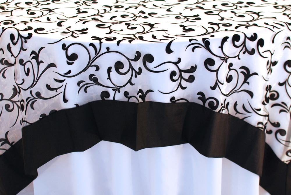 Damask Black & White
