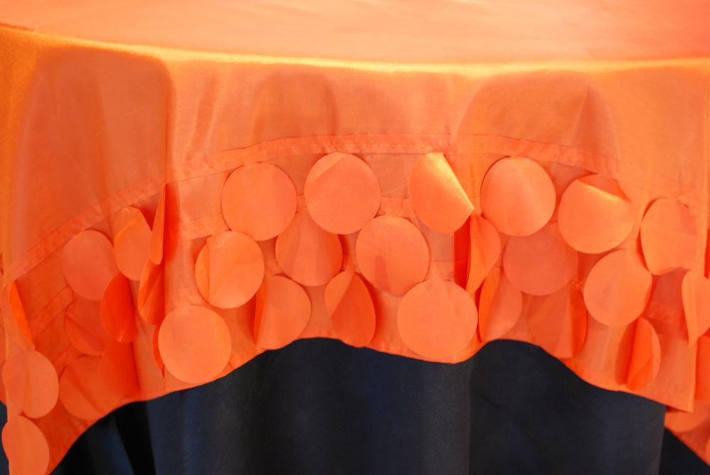 Circle Design Topper - Orange