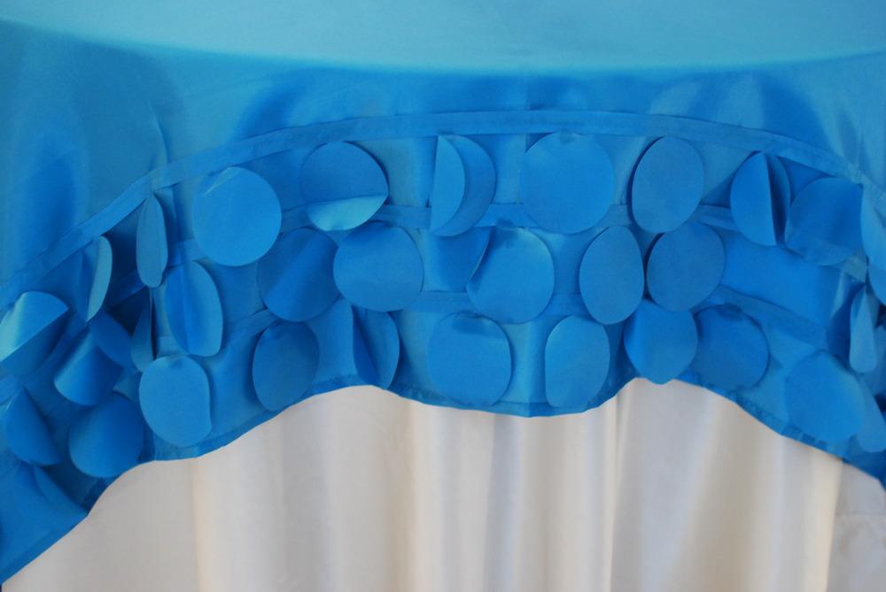 Circle Design Topper - Blue
