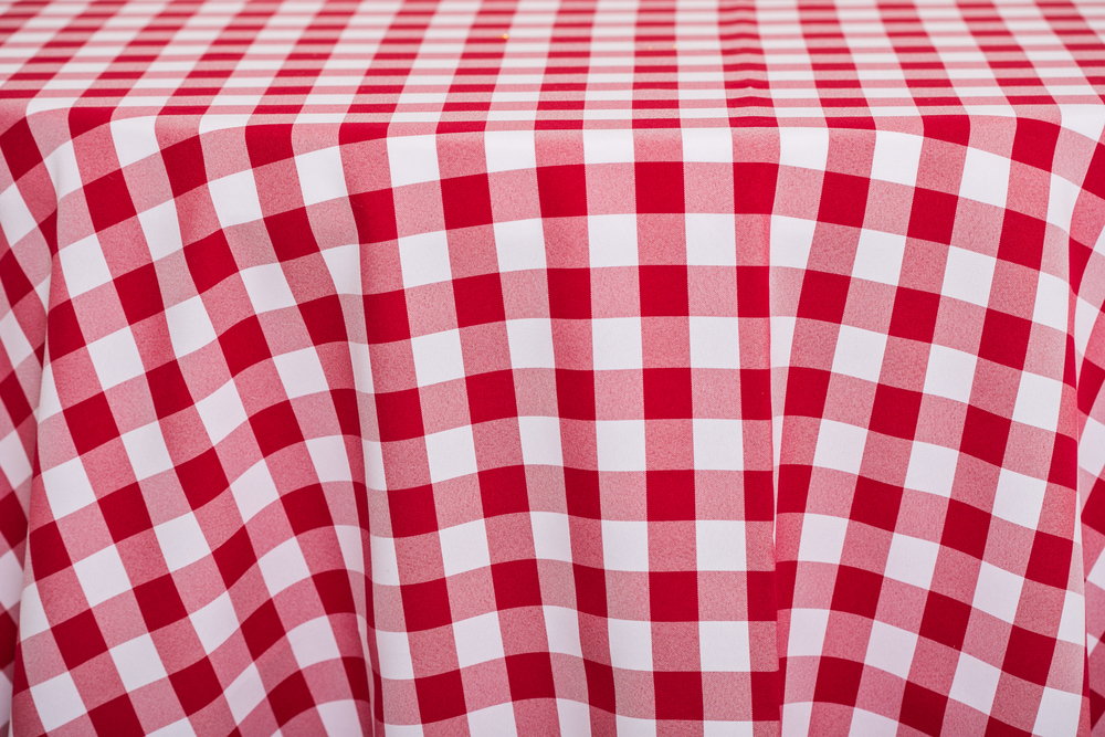 Checkered - Red/White