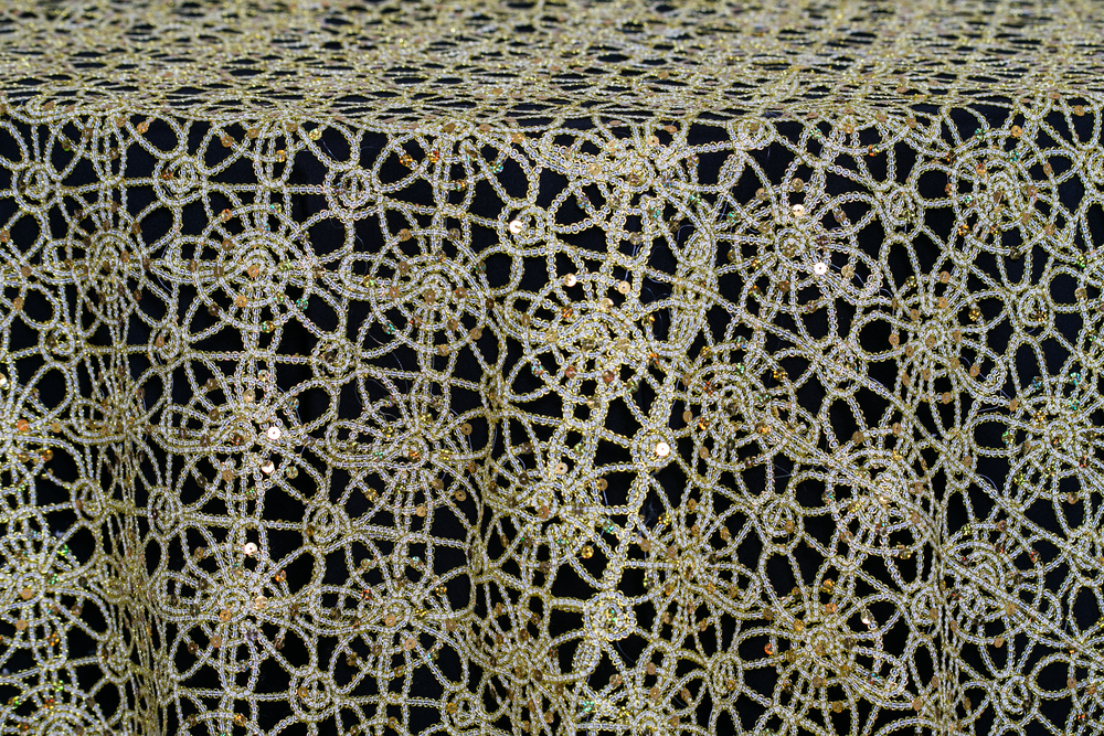 Metallic Lace - Gold
