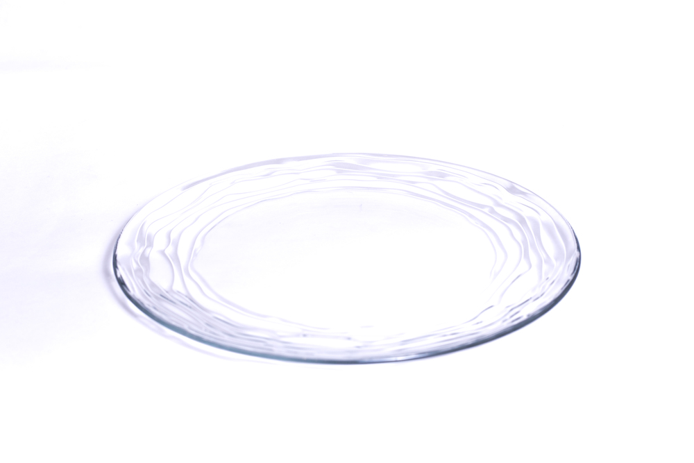 Oasis Clear Charger Plate