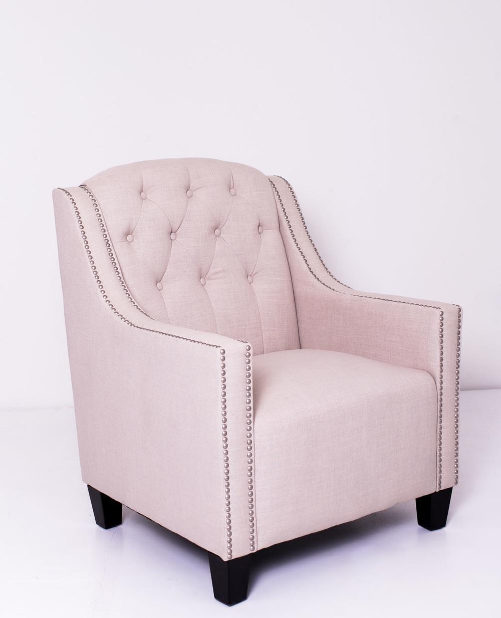 Tufted Nailhead Armchair