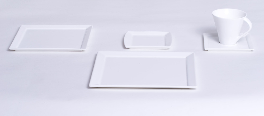 Square Dinnerware