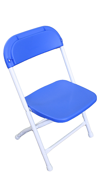 Kid's Folding Chair - Blue