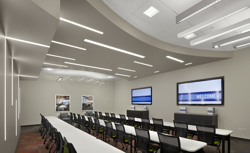 Innovative Classroom Lighting : Pinnacle architectural lighting intergroup architects
