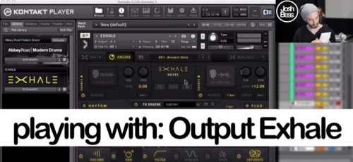 PLAYING WITH : OUTPUT EXHALE (VIDEO) — Music Production Method