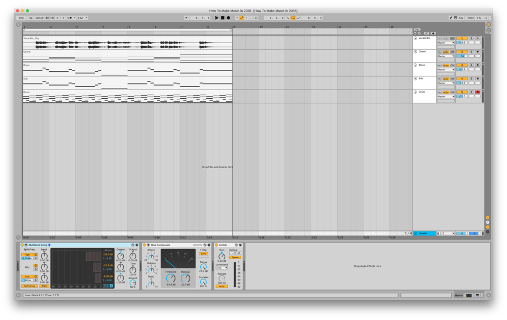 Ableton Live 10 Project File