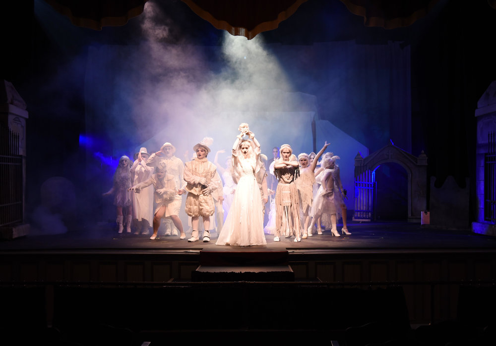 Addams Family Musical - Ascension Episcopal School (2106)