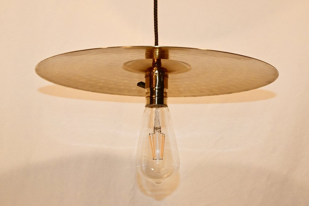 """Hi-Hat"" Lamp with Led Bulb"