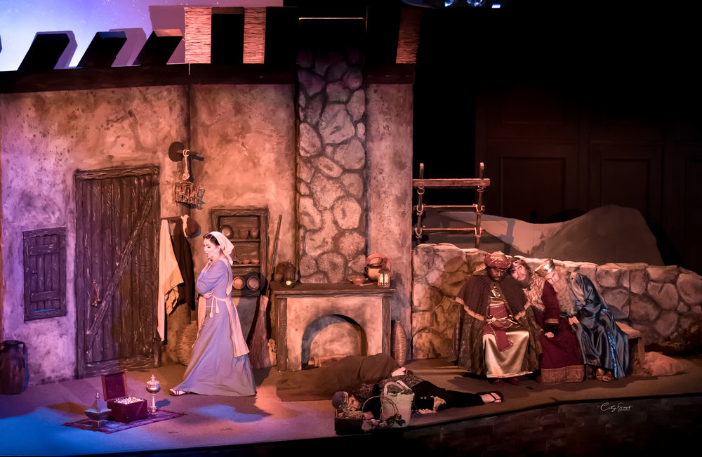 Amahl and the Night Visitor - 2017 - Opera Louisiane - Baton Rouge, LA - Photo by Rick LeCompte