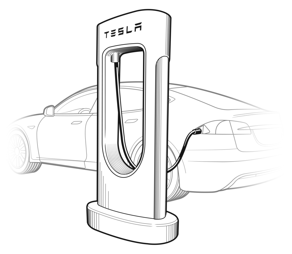 Popular Mechanics  Tesla Supercharger
