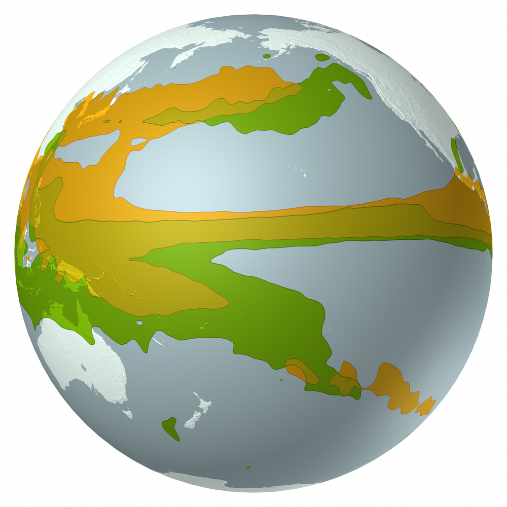 Scientific American - Rainfall globe