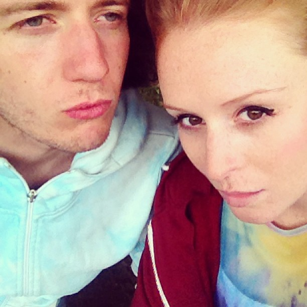 Doing our best Blue Steel's :P