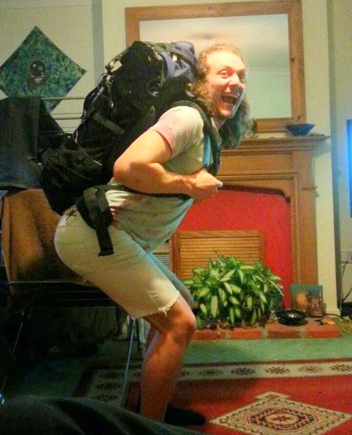 insane backpacker