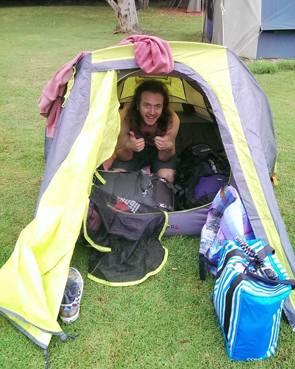 tiny tent