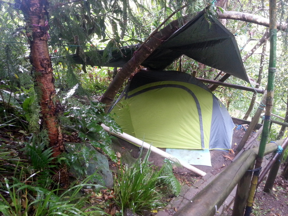Now we live in a tent out of two backpacks. Our most important things e.g. wallet passport phone stay on us almost all the time. & Living A Minimalistic Life on the Road u2014 Nomadu0027er How Far