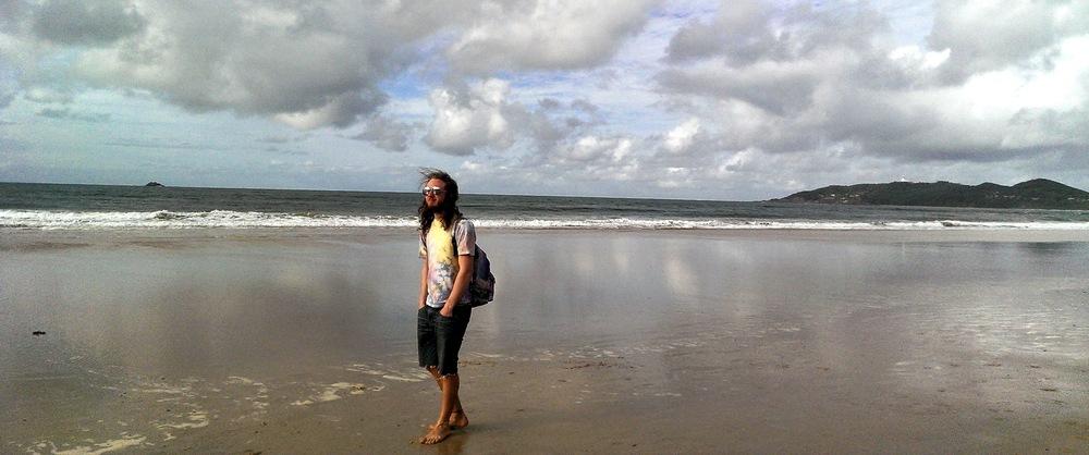 beach hippy