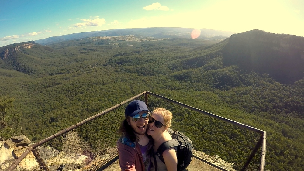 blue mountains couple