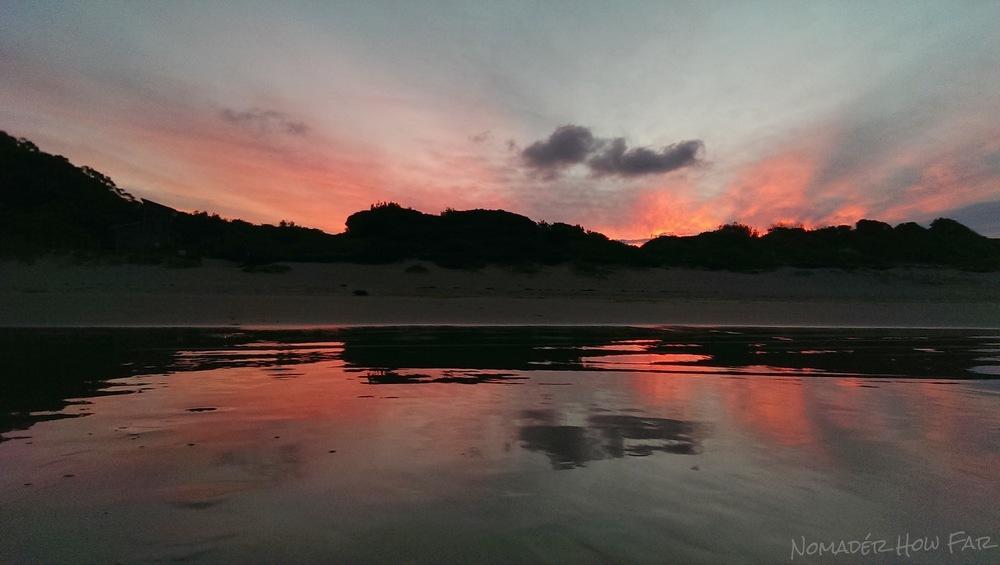 Sunset at the beach - Port Stephens, Australia