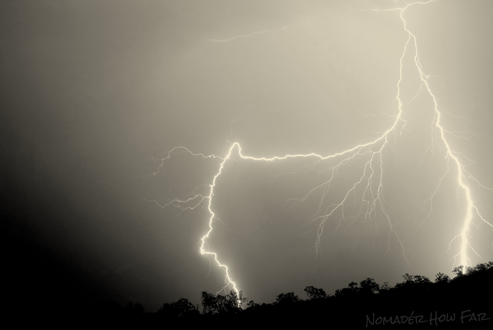 Storms on the farm - Bauple, Australia