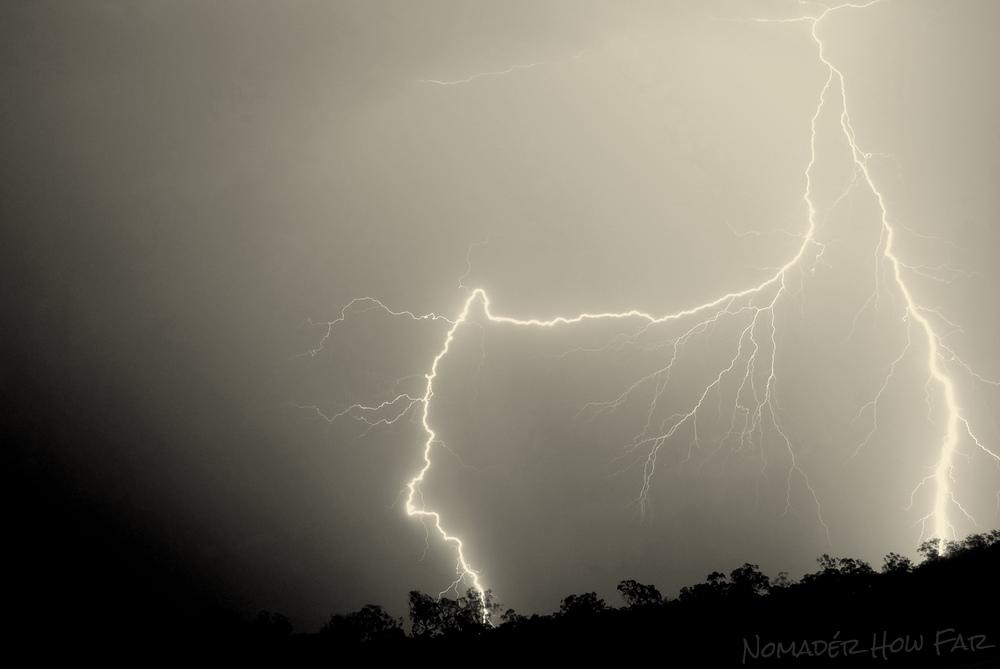 Storms on the farm - Bauple, Australia