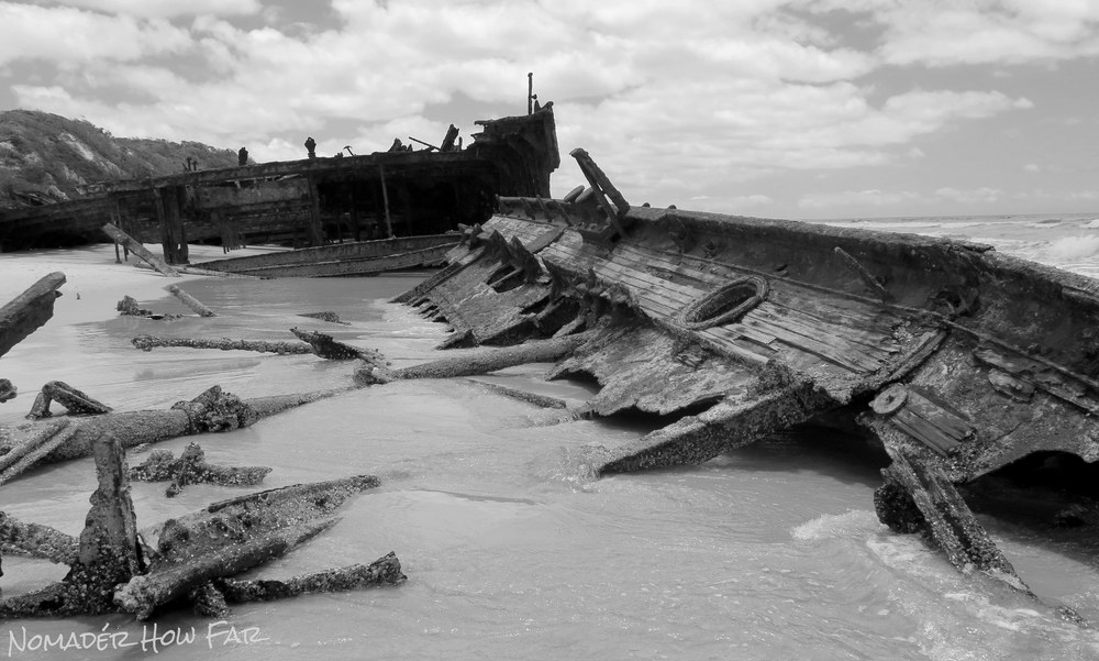 The Maheno Shipwreck - Fraser Island, Australia