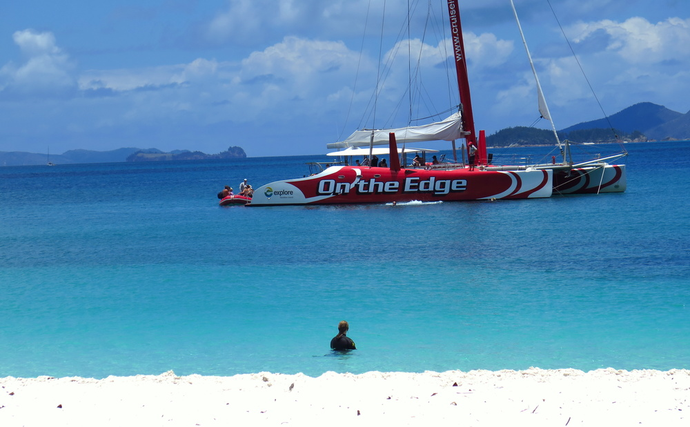 whitsundays tour boat