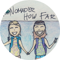 nomader how far logo