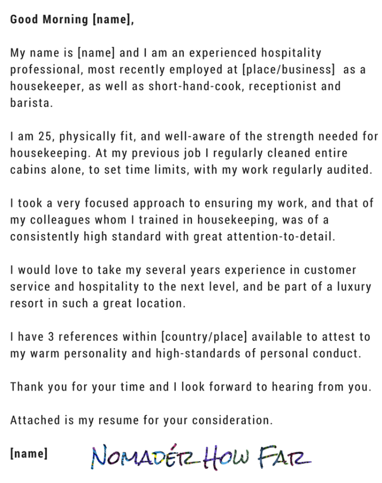 The Cover Letter Email That Got Me An Interview