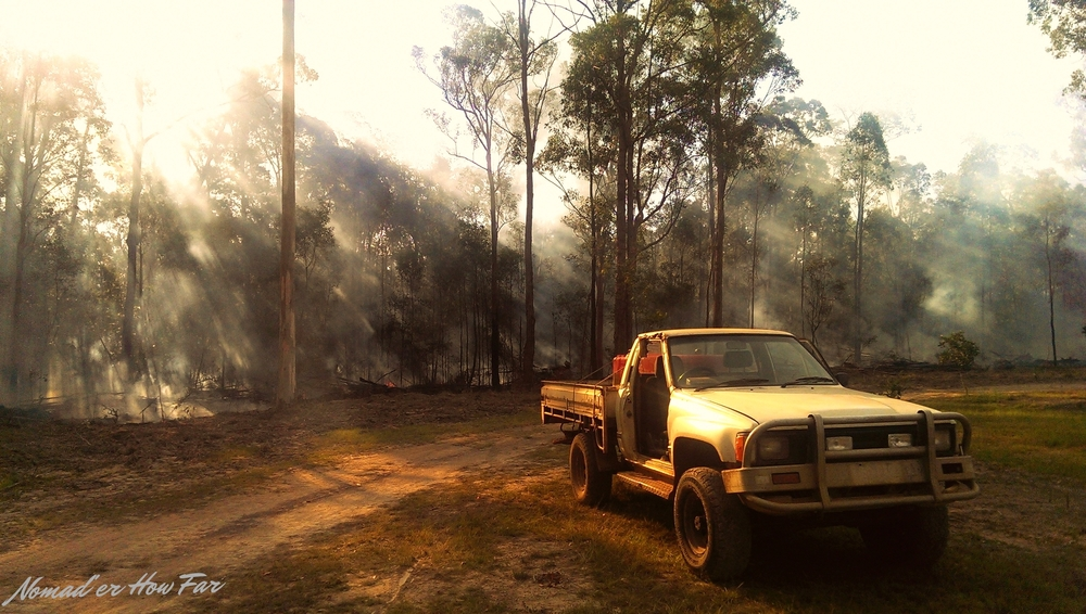 Farm life - Bauple, Australia