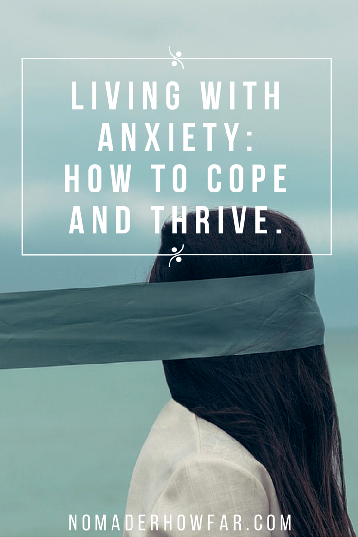 Anxiety comes forth when I am making changes in my life, like when I start a new job or plan a new venture. It tries to dominate my mind at every turn of my life's path, and it almost succeeds at making me recoil and retreat from the things, and the people, that I love.