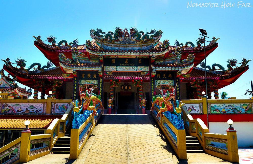 Temple near Phuket, Thailand