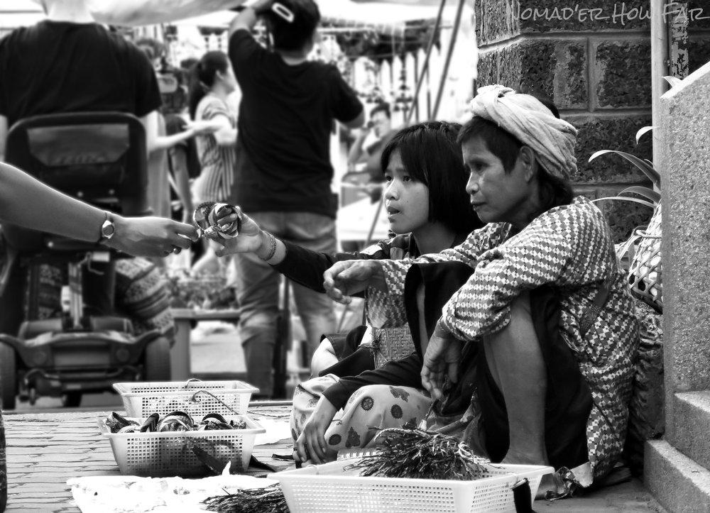 street vendors thailand