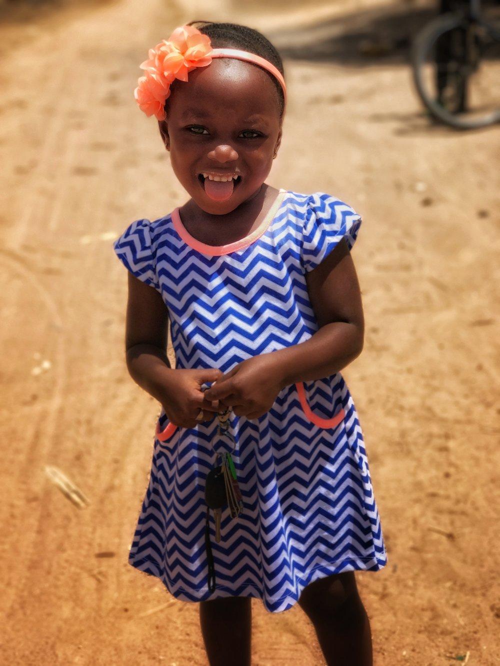 Gambian girl