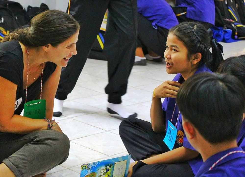 Teaching English with The Mindfulness Project, Khon Kaen, Thailand
