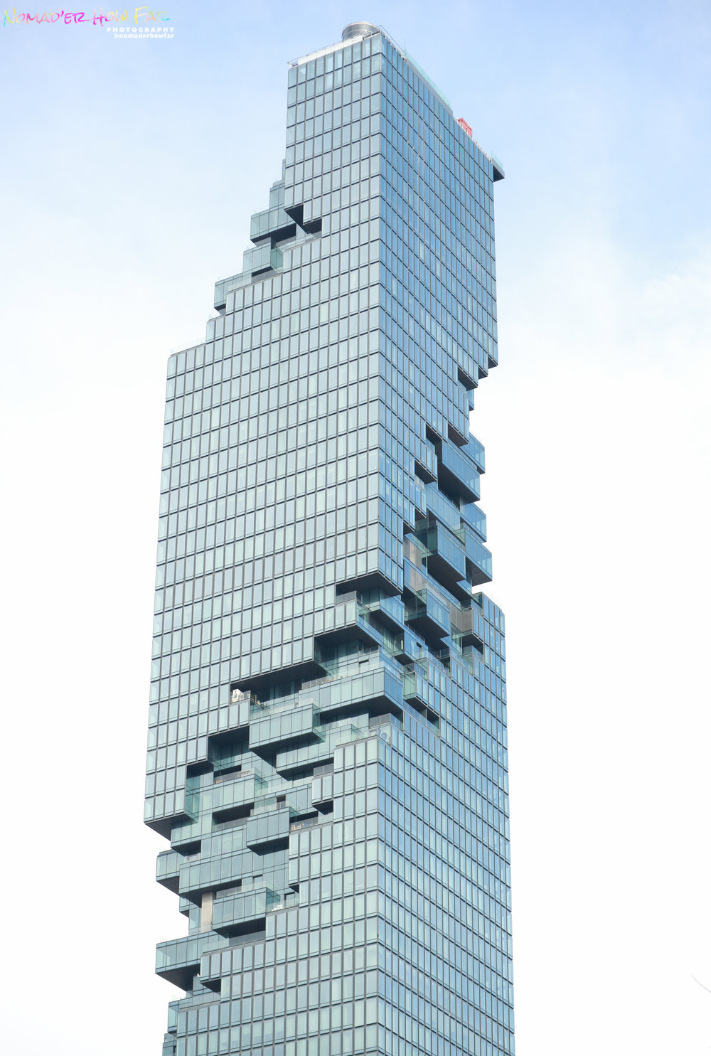 Epic Jenga building // Bangkok, Thailand
