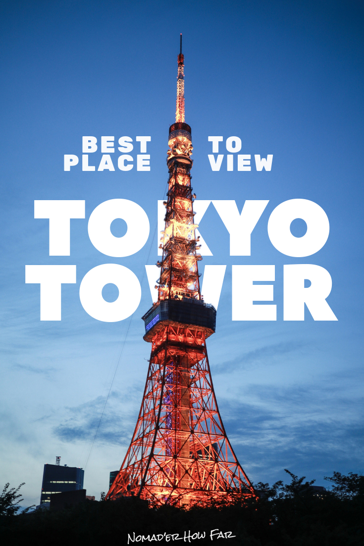 Managing to find a few rooftops that where easy-ish to access, I ended up sleeping on one with Tokyo Tower providing an dreamy view to drift off to and..