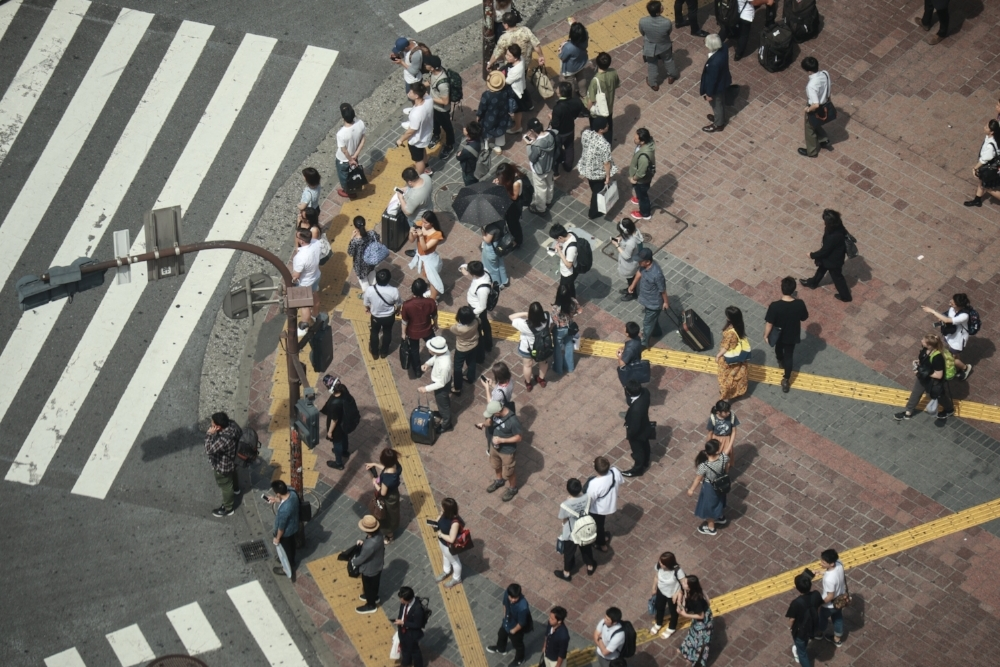 Shibuya Crossing Secret Viewpoint -