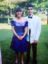 Susan Slingluff and Dan Hartmann heading Prom in Annapolis, MD., as friends, of course.