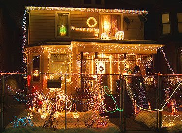 (NOT my house. NOT my lights. Just so we're clear.)