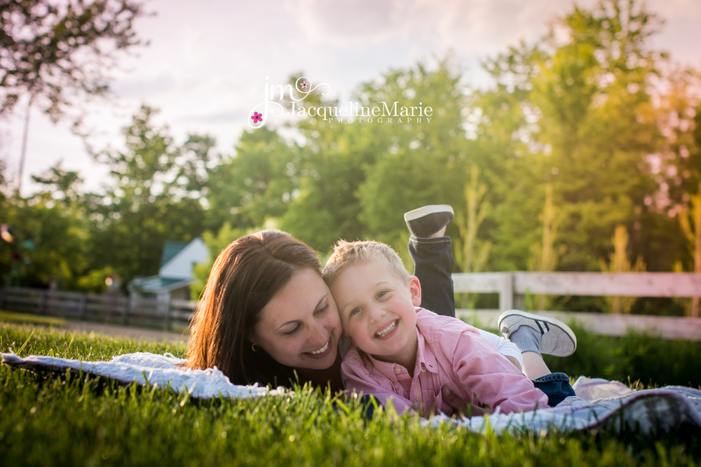 Columbus, OH photographer | Family photographer | Mommy and me session
