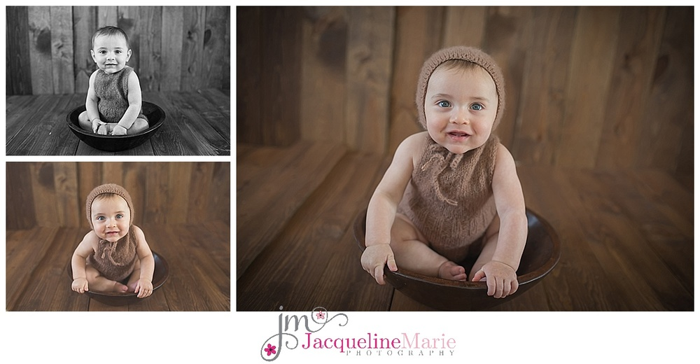 baby boy pictures, 6 month session, 6 month pose
