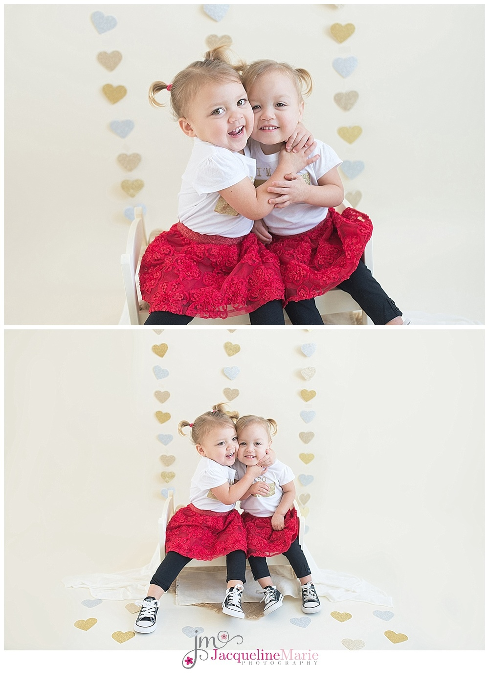 twin sisters | sibling photography | toddler twin sisters | sibling photography | Columbus Ohio childrens photographer | Jacqueline Marie Photography LLC